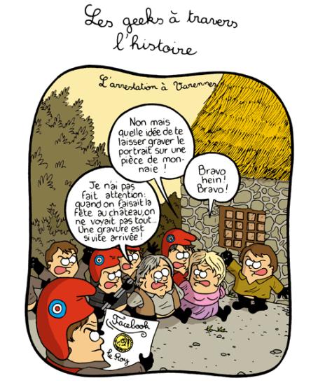 L'arrestation à Varennes